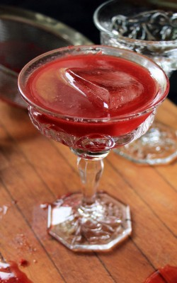 Coffee Infused Raspberry Daiquiri