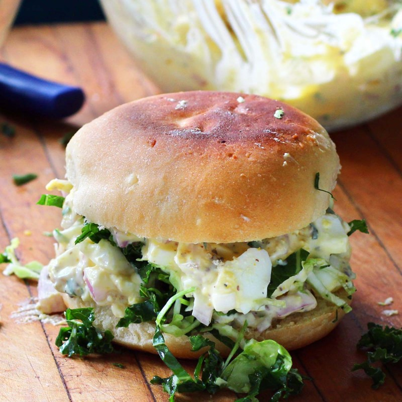 amazing egg salad sandwich