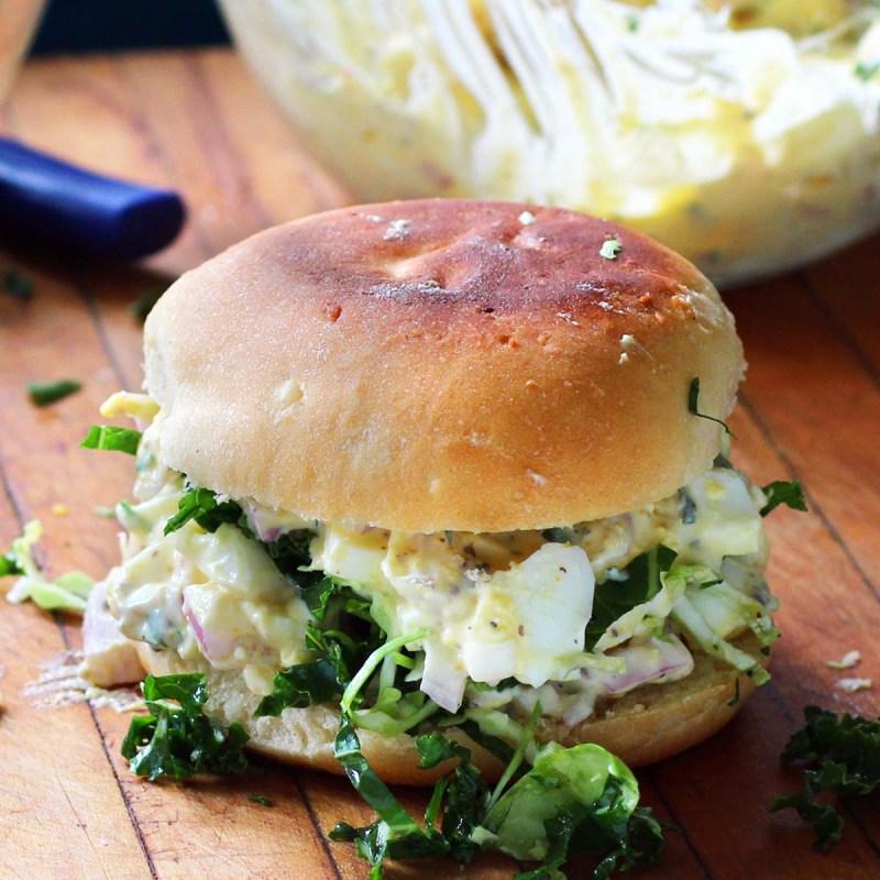 amazing egg salad sandwich