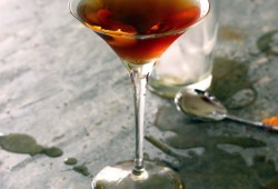 a classic Manhattan cocktail