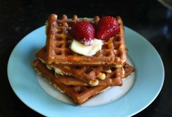 sourdough waffles: a tribute