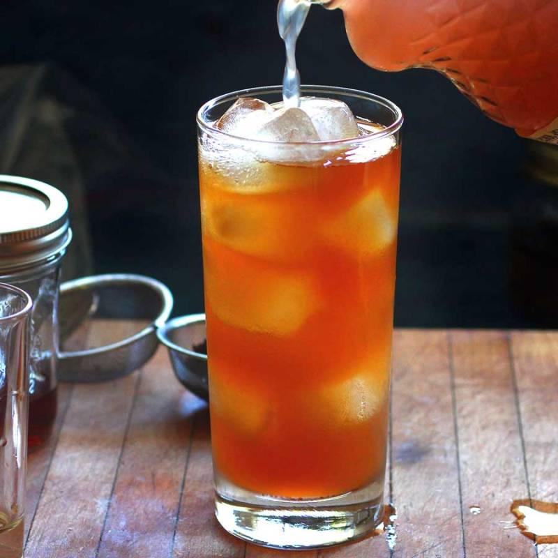 earl grey infused vodka and raspberry lemonade