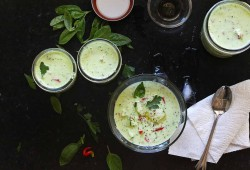 Garden Harvest Chilled Cucumber Soup