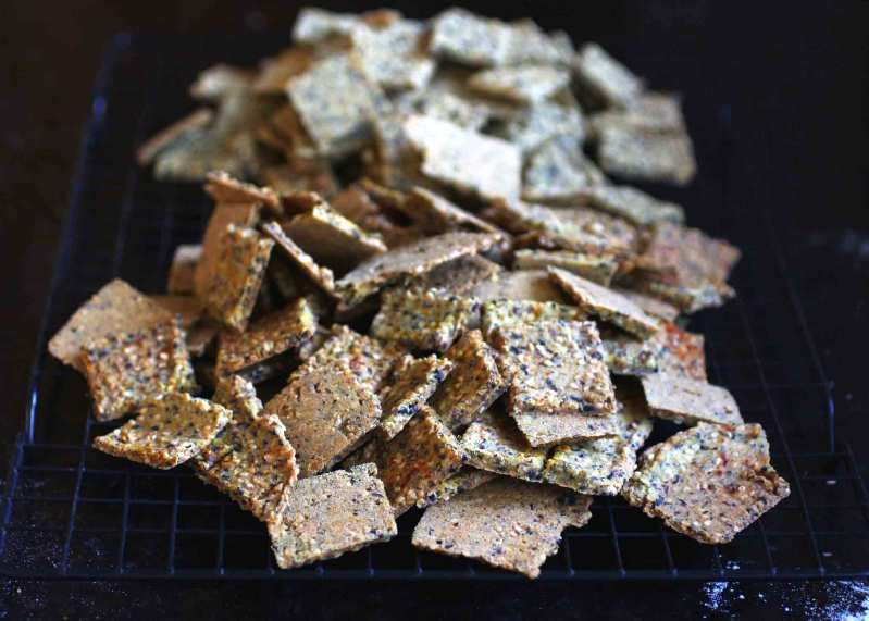 Wally's Sesame Crackers- vegan and gluten free