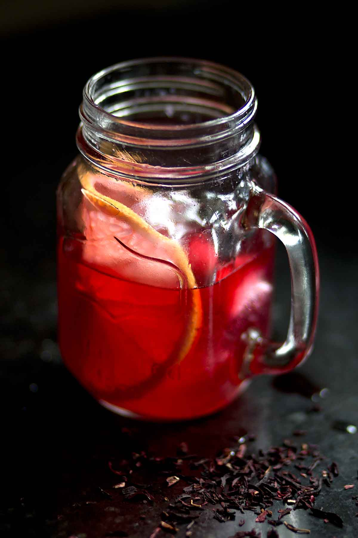 Fresh Grapefruit and Hibiscus Spritzer