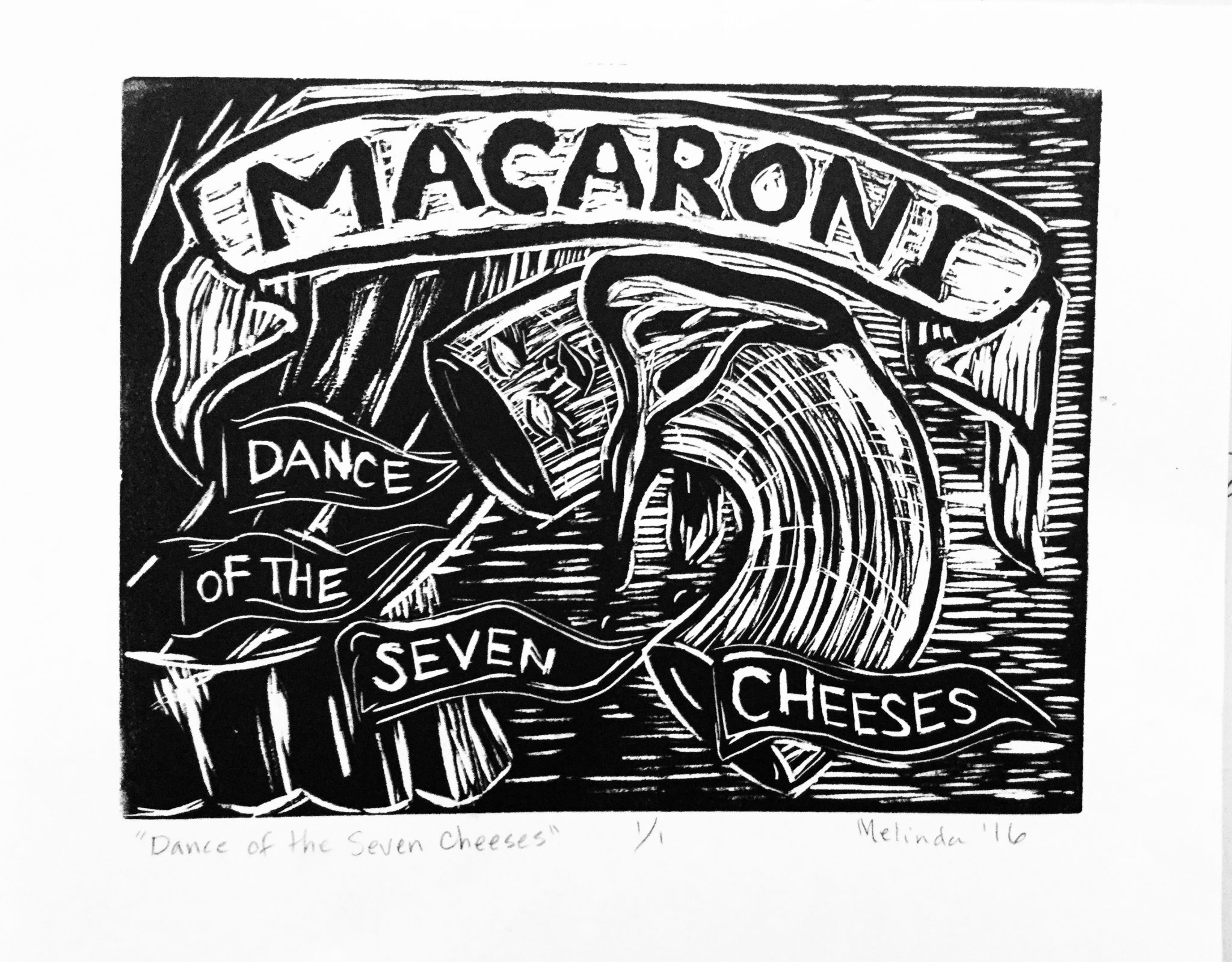 Macaroni: dance of the seven cheeses