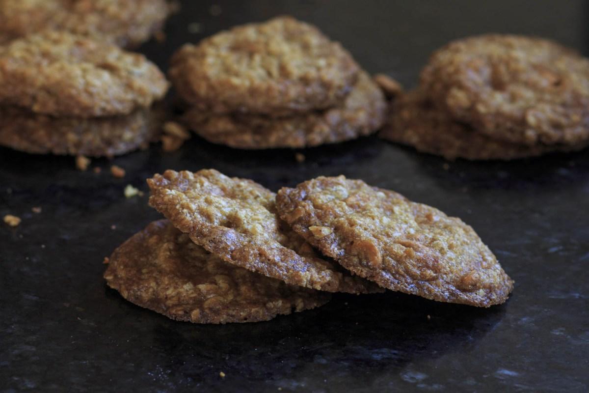 Crisp Oatmeal Scotchies- the ultimate butterscotch comfort cookie