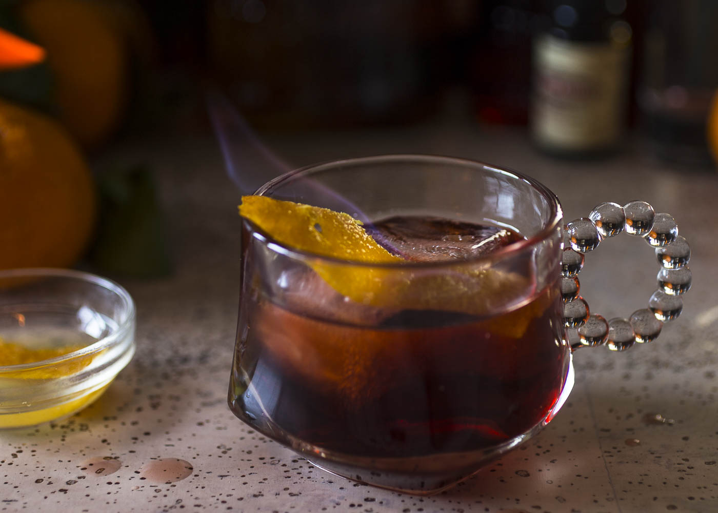 A holiday rum negroni for our inner surfer