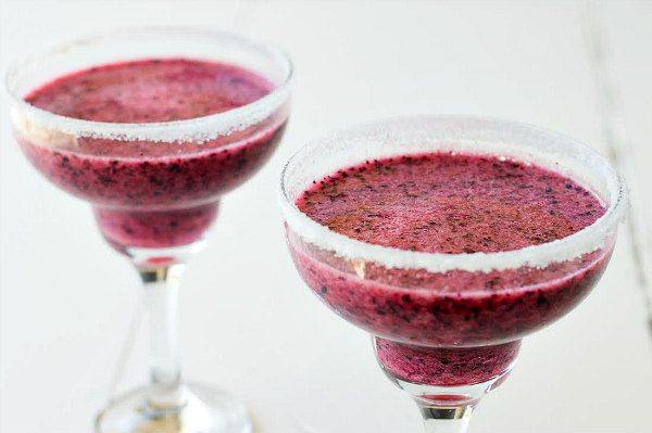 Margarita de arandanos