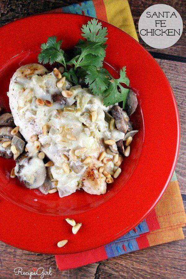 Santa Fe Chicken #dinner #recipe - RecipeGirl.com