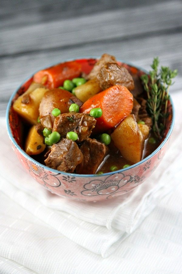 Slow Cooker Beef Stew Recipe - RecipeGirl.com