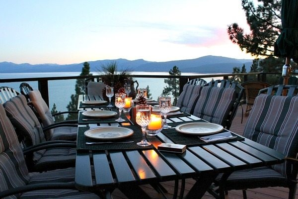 Tahoe Dinner View