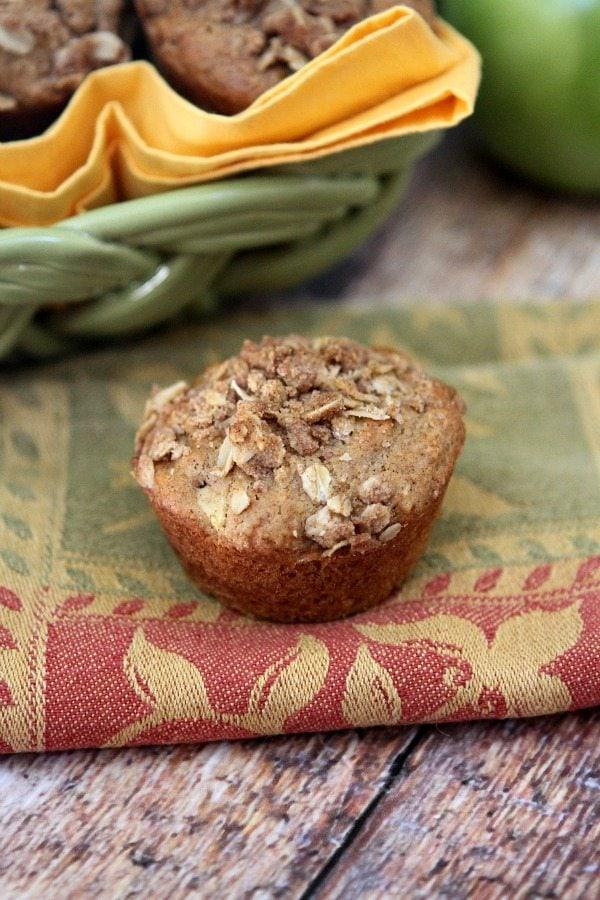 Apple Streusel Muffins #recipe