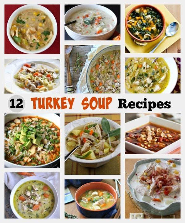 12 Turkey Soup Recipes