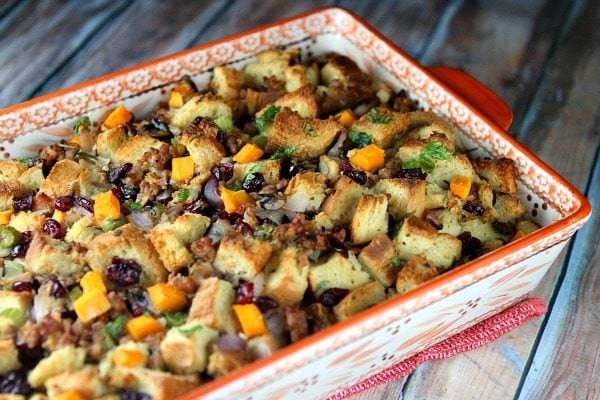 Sausage and Herb Stuffing 1