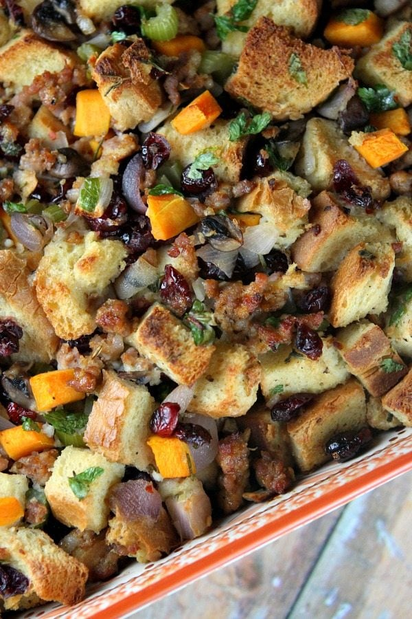 Sausage and Herb Stuffing 8