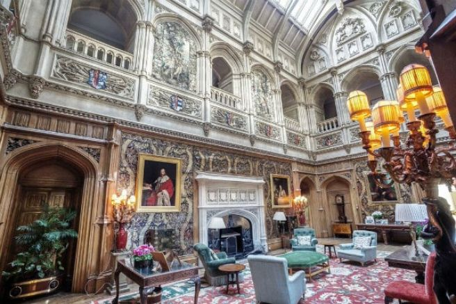 Downton Abbey Grand Hall