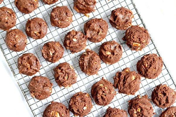 7 Minute Chocolate Cookies