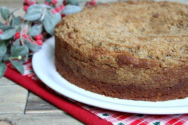 Easy Gingerbread Coffee Cake recipe - from RecipeGirl.com