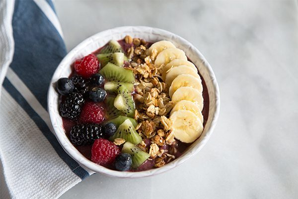 Acai Berry Bowl recipe - from RecipeGirl.com