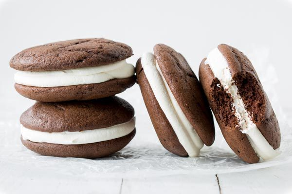 Traditional Whoopie Pies recipe from RecipeGirl.com