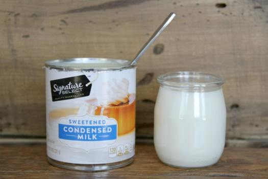 Sweetened Condensed Milk and Milk for Iced Coffee