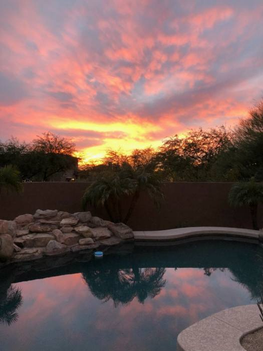 Sunset in North Scottsdale