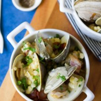 Corn Chowdered Clams