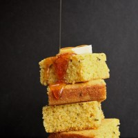 Brown Butter Rosemary Orange Cornbread