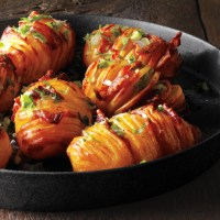 Bacon Hasselback Potatoes