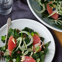 Kale, Grapefruit and Fennel Salad