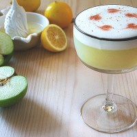 Pisco Apple Sour