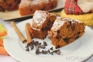Havuçlu ve Damla Çikolatalı Kek