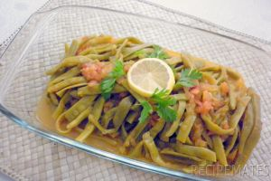 String Beans in Olive Oil
