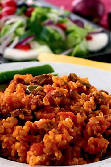 Bulgur with Meat