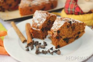 Carrot and Chocolate Chips Cake