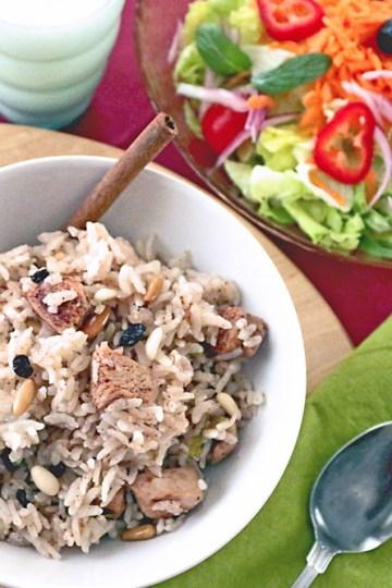 Spring Chicken Rice