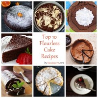 Top-10 Flourless Cake Recipes