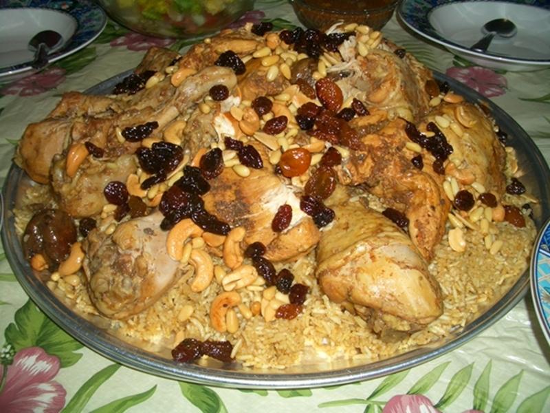 الكبسة العراقية بالدجاج - وصفات أكل عربيه