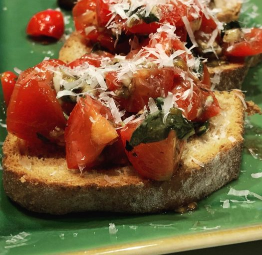 Bruschetta Recipes Are Merely A Suggestion by kc is me