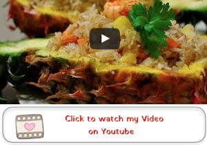 Thai Pineapple Fried Rice Youtube video