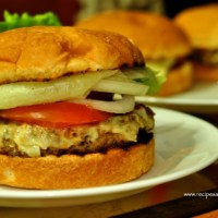 Beef Burger with Mushrooms Recipe