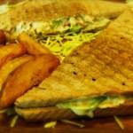 Coleslaw Chicken Sandwich