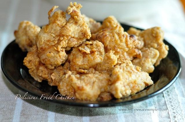delicious fried chicken recipe