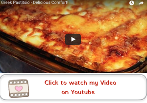 greek pastitsio youtube video