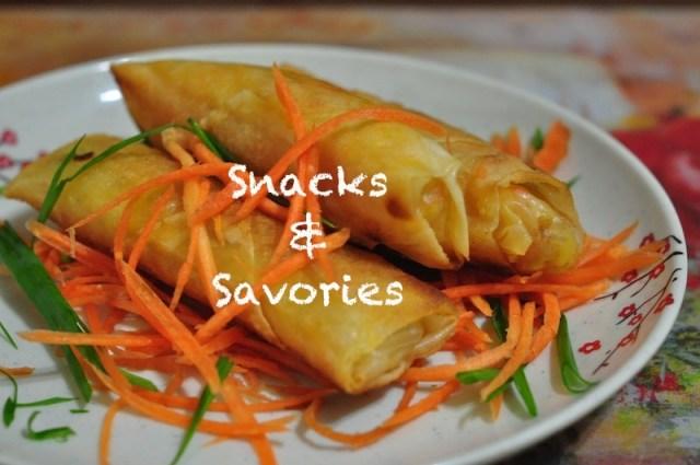 Recipes for Snacks