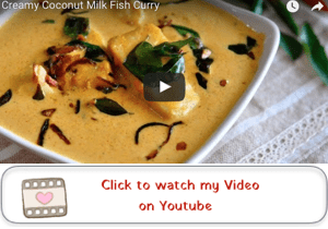 coconut milk fish curry youtube video