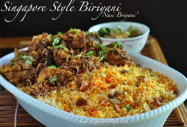 Singapore Rice Recipe Food Fusion