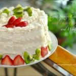 sponge cake with fresh fruit filling recipe