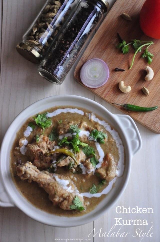 Chicken Kurma - Malabar Style